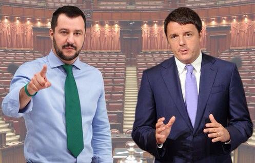 Salvini e Renzi: leader carismatici a tempo determinato
